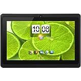 iNOVA EX756 7' Tablet PC- Quad Core @ Up To 1.2GHz, ARM Cortex-A9, 512MB DDR3, 8GB ROM Nand Flash, MicroSD Slot (32GB), 800x480 Pixels, 16:9, 5 Point Capacitive Multi-Touch Screen, WiFi, Supports 3G Dongle, G Sensor, 2.0MP Dual Camera, MicroSD Slot, USB OTG, Accessory Kit (BLACK)
