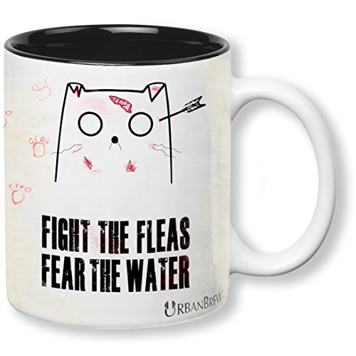[Urbe Zombie Cat - The Walking Dead Mug