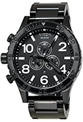 Nixon 51-30 Chrono A083 All Black Watch A083-001