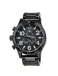 Nixon Unisex A083-001 51-30 Chrono Black Watch