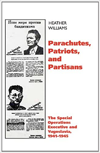 Book Parachutes Patriots and Partisans