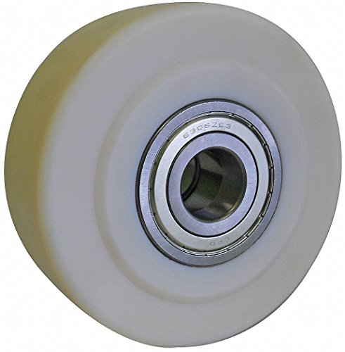 "4"" Caster Wheel, 3300 lb. Load Rating, Wheel Width 2-1/8"", Nylon, Fits Axle Dia. 3/4"" - 1 Each"