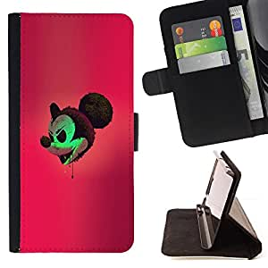 Jordan Colourful Shop - Evil Mickey For Apple Iphone 4 / 4S - Leather Case Absorci???¡¯???€????€???????????&AE