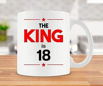 18th Birthday Gift Ideas For Him Mug Coffee 18 Bday