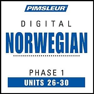 Norwegian Phase 1, Unit 26-30 Audiobook