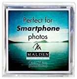Malden International Designs Acrylic Photo Cube, 6 Option, 6-4x4, Clear Deal (Small Image)
