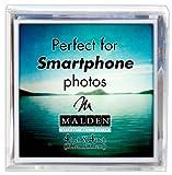 Malden International Designs Acrylic Photo Cube, 6 Option, 6-4x4, Clear Deal