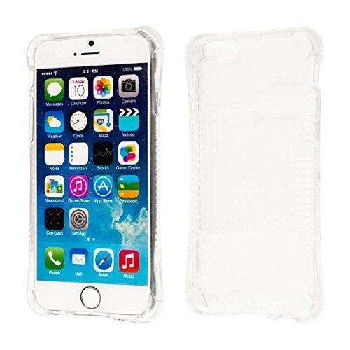 MPERO iPhone 6 Plus / iPhone 6S Plus Case, SLIM SHOCK Preuve Flexible Pare-Chocs Doux Thin Protection Shell Scratch Résistance Transparent protection Cover Coque Housse, Clair