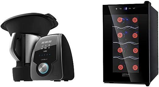 Cecotec Robot de Cocina Multifunción Mambo 7090 + Vinoteca de 8 Botellas con Capacidad de 25L: Amazon.es: Hogar