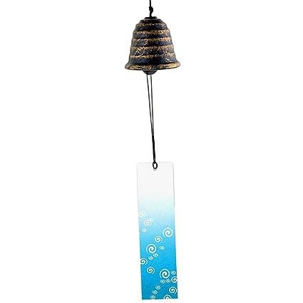 fenteer japonés de viento viento Campanas Hierro Fundido regalo de cumpleaños Navidad Regalo Home Dekor japonés