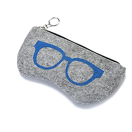 Westeng 1pcs /Étui /à lunettes Zipp/é Cartoon Simple Lunettes Pouch Portable Multifonctionnel