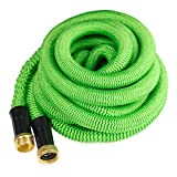 #2: Garden Hose 50 Feet Expandable Hose With All Brass Connectors