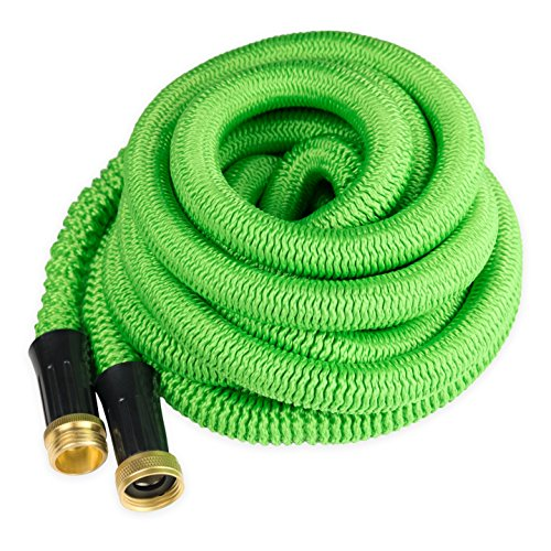 Quality Source Products Garden Hose 50 Feet Expandable Hose With All Brass Connectors