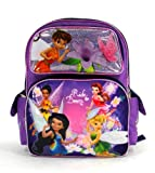 "Disney Fairies - Magic Lotus - Large 16"" Backpack Featuring Tinker Bell"