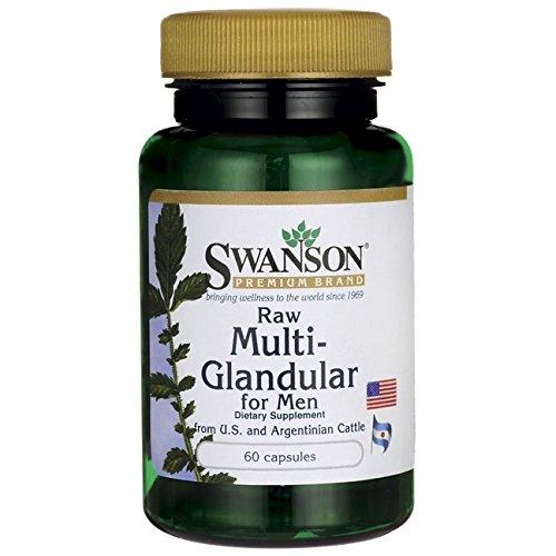 - Swanson Raw Multi-Glandular for Men 60 Capsules