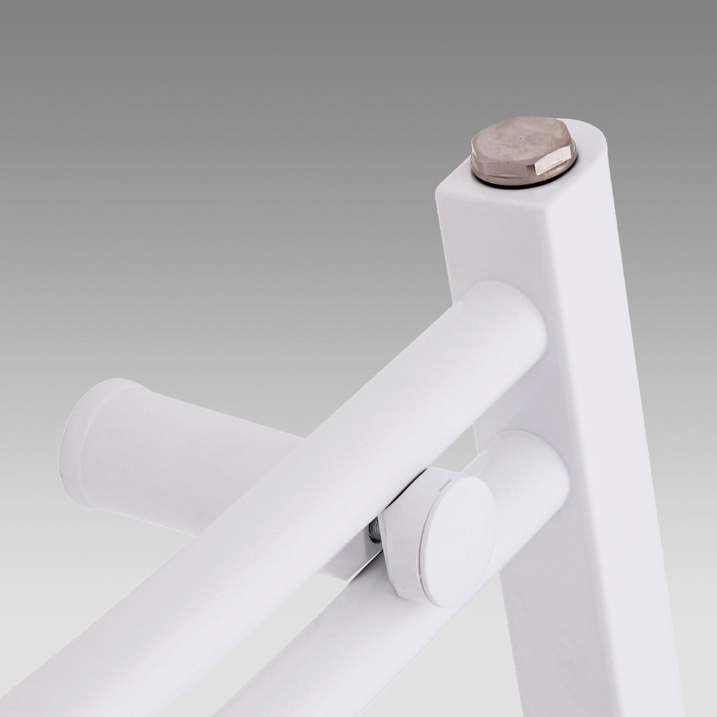 Handtuchheizk/örper weiss Badheizk/örper ASTORIA 500x1800 mm Handtuchw/ärmer Badheizk/örper Seitenanschluss gerade