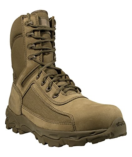 Coyote Boot Suede - McRae Mens Coyote Suede/Nylon Terassault Freedom Military Boots 10 R