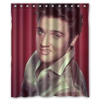 Amazon Com Elvis Presley Cool Custom Shower Curtain 60 Quot X