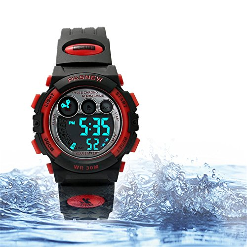 Kids Sports Watches Children For Girls Boys Watch Waterproof Military Dual Display Wristwatches LED (Military Girl)