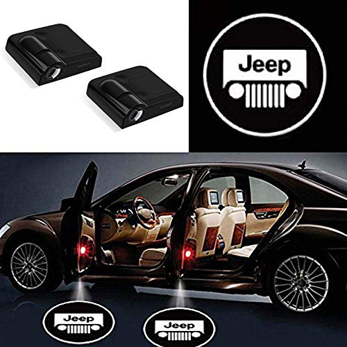 Wireless Car Door Lights for Jeep, Shadow Lights Led for sale  Delivered anywhere in USA