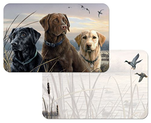 Hunting Reversible Washable Plastic Placemats