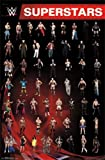 "WWE Superstars Grid 2014 22""x34"" Art Print Poster"