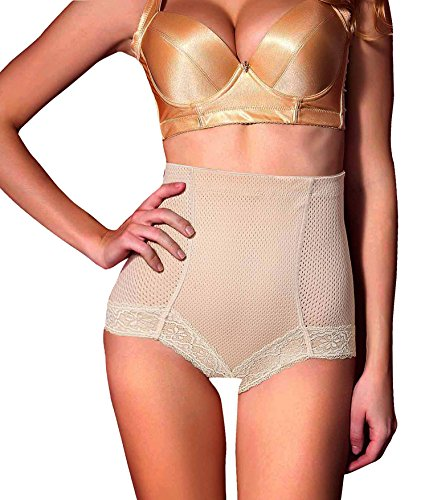 Antibacterial Shapers Panties Hi Waist Slimming