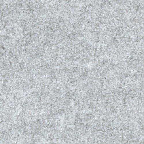 Baum Winterfleece Velour Grey Heather Fabric by The - Anti Soft Pill