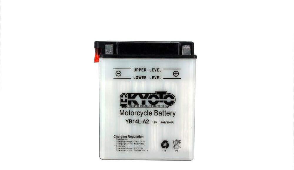 12V 14Ah KYOTO Batterie YB14L-A2