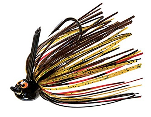 - Z-Man Fishing Products Z-Man Fishing CrosseyeZ Power Finesse Jig 1/4 oz 2/0 Flipping Hooks Wire Trailer Keeper Skirt, Natural Craw