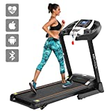ANCHEER APP Control Electric Folding Treadmill
