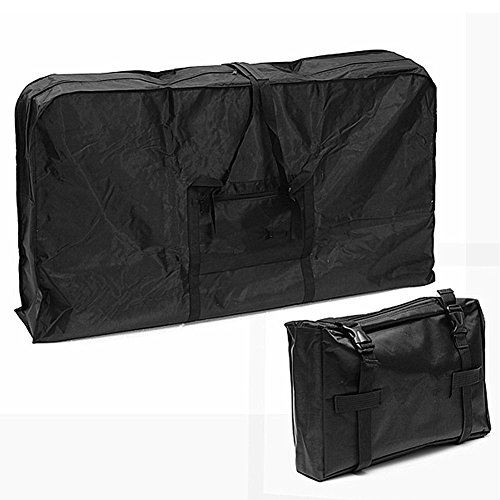 26 inch Foldable Bike Travel Bag Case Box Thick 1680D Oxford Cloth Folding Bicycle Carry Bag Pouch Bike Transport Case Bag for Transport,Air Travel,Shipping CYBG03 by ChengYi (Image #2)