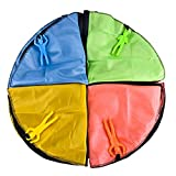 4 Pcs Parachute Toy Tangle Free Parachutes Men Hand