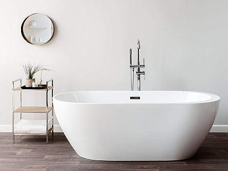 Vasca Da Bagno Freestanding In Acrilico : Vasca da bagno freestanding con idromassaggio nevis vasche