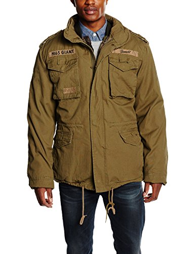 Brandit Men's M-65 Giant Jacket Olive Size L