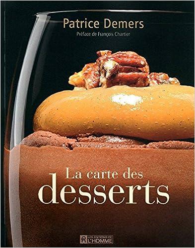 LA CARTE DES DESSERTS pdf, epub ebook
