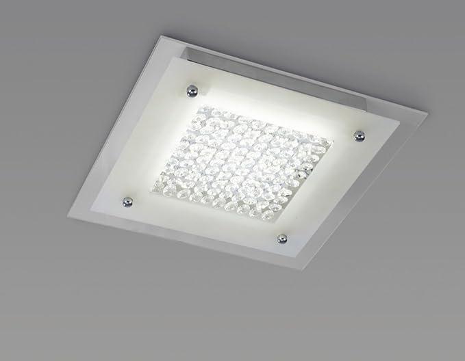 Plafoniere In Cristallo A Soffitto : Mantra lampada da soffitto plafoniera a led w collezione