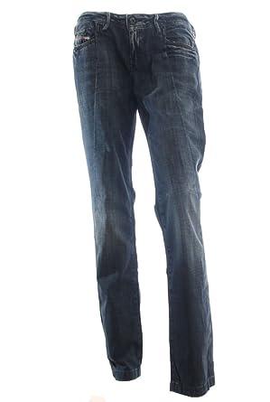 571f2792ba876e Diesel Damen Jeans Blizz dunkelblau Länge: 34: Amazon.de: Bekleidung