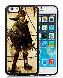 Funny and Easy Use Case The Legend Of Zelda Character Arm Sword Look Zelda iphone 6 4.7 inch TPU case in Black