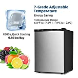 Kismile 2.1 Cu.ft Compact Upright Freezer with