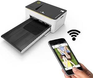 Kodak Photo Printer Dock Wireless With Android & iPhone Dock PD-450W, White