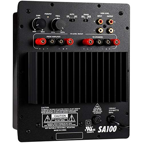 Dayton Audio SA100 100W Subwoofer Plate Amplifier