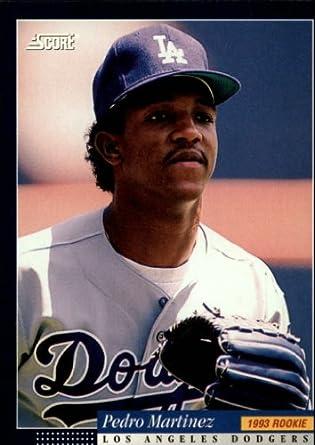 Amazoncom 1994 Score Baseball Card 554 Pedro Martinez