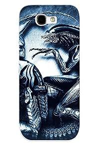 Galaxy Cover Case - Aliens Vs Predator Games Scifi Alien Movies Protective Case Compatibel With Galaxy Note 2