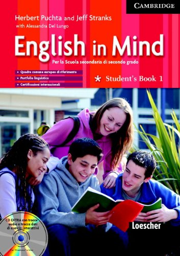 Read Online English in Mind 1 Student's Book, Workbook with Audio CD/CD ROM and Grammar Practice Italian Edition pdf epub