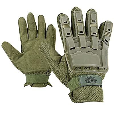 Valken V-TAC Full Finger Plastic Back Airsoft Gloves