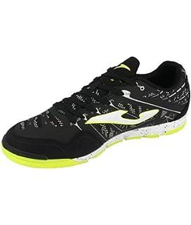2ae47b556f4 Joma Indoor Soccer Shoes Super REGATE SREGW 801 Black Calcetto Scarpa