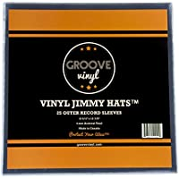 Groove Vinyl Single LP Premium Outer Record Sleeves (25 Pack)