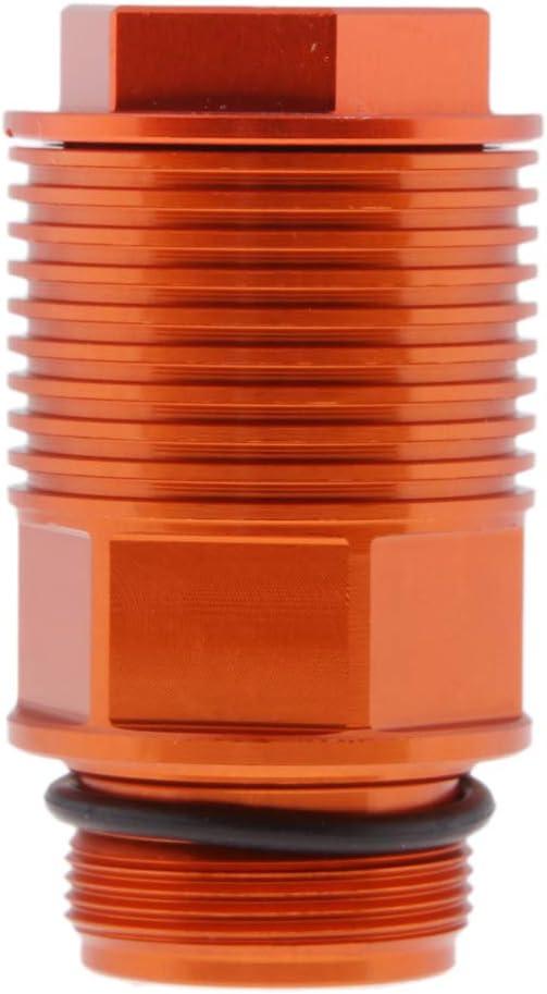 Orange D DOLITY Motorcycle Rear Brake Reservoir Extension /& Cap for KTM 125-560cc EXC SX XC