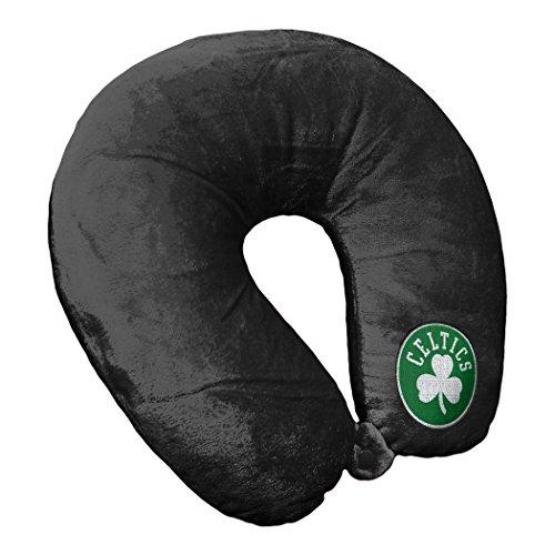 The Northwest Company NBA Boston Celtics Applique Neck Pillowapplique Neck Pillow, Black, One Size (Celtics Boston Snap)